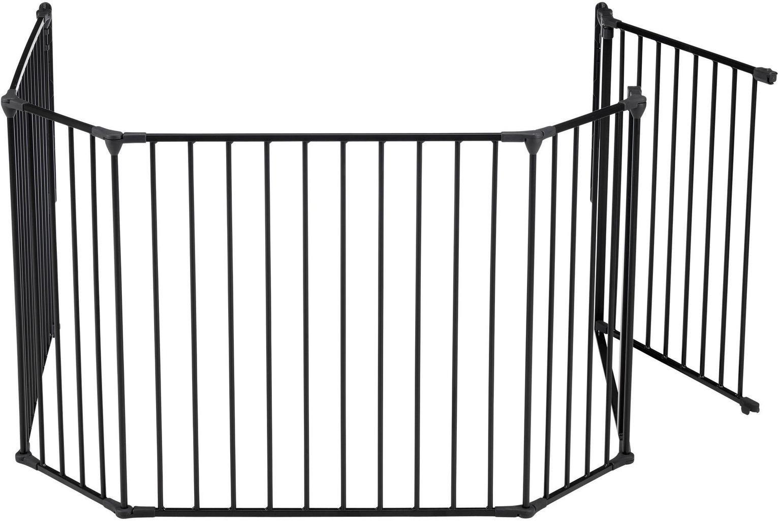 BabyDan XL Hearth Gate / Configure Gate - Black