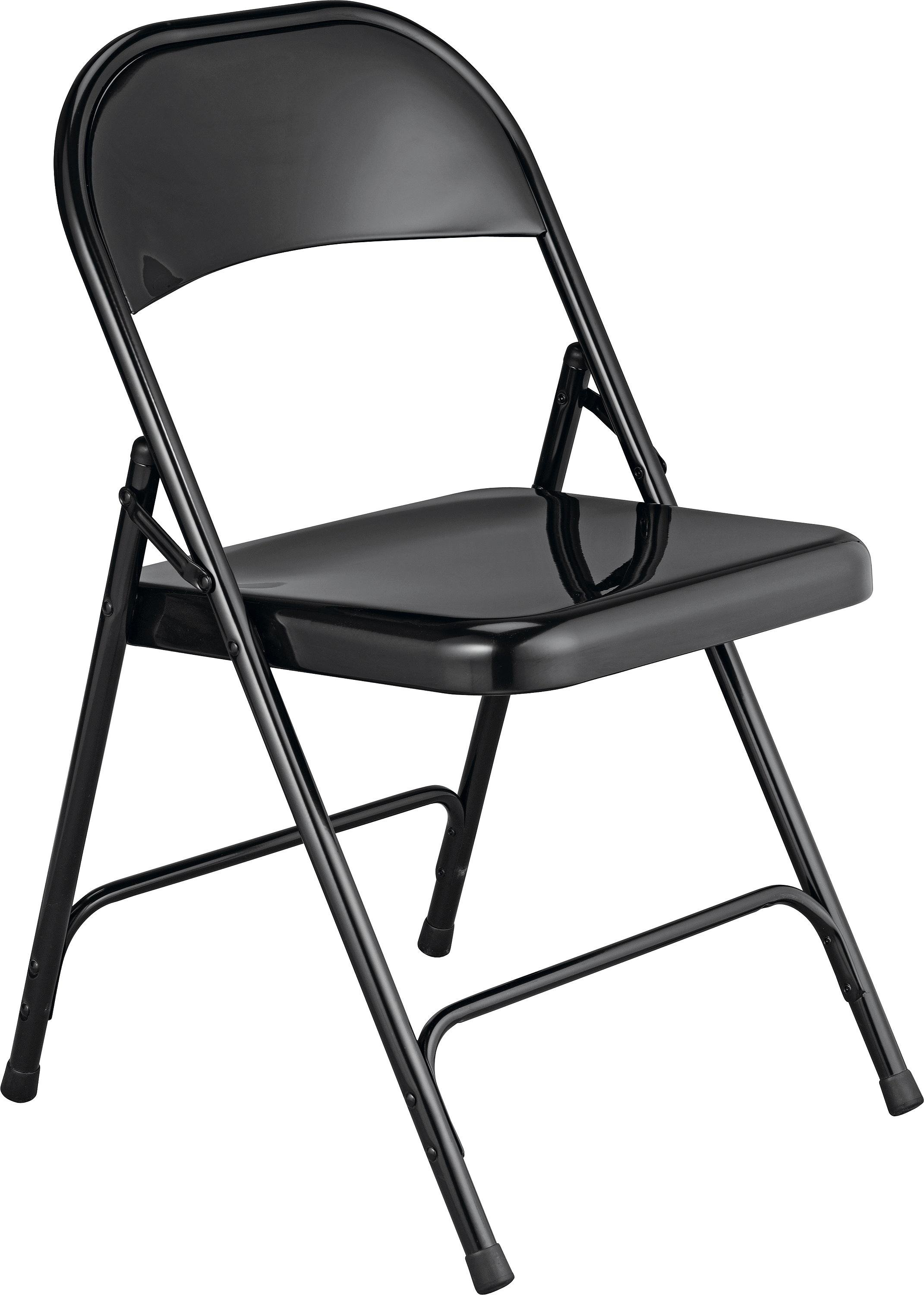Marvelous Habitat Macadam Metal Folding Chair   Black