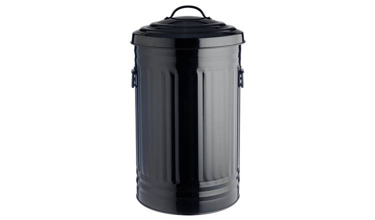 Habitat Alto 52 Litre Kitchen Bin - Black