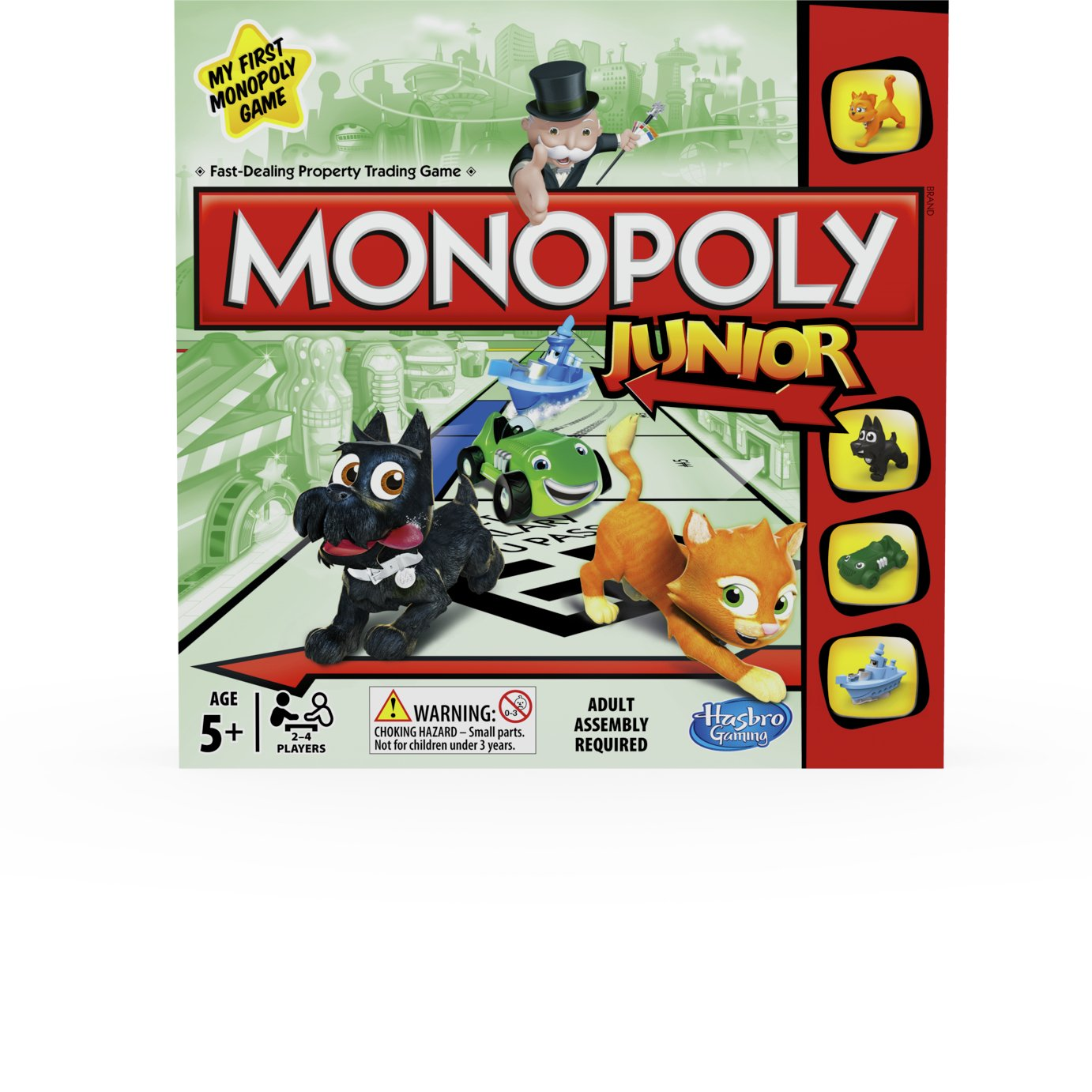 Monopoly Junior Board Game from Hasbro Gaming.