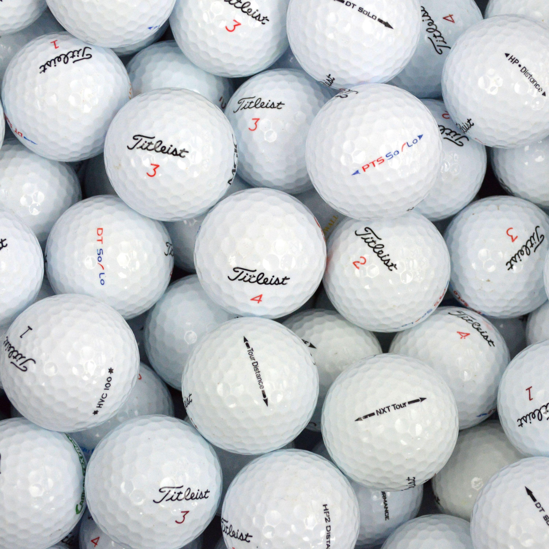 Titleist 100 Lake Balls in a Box.