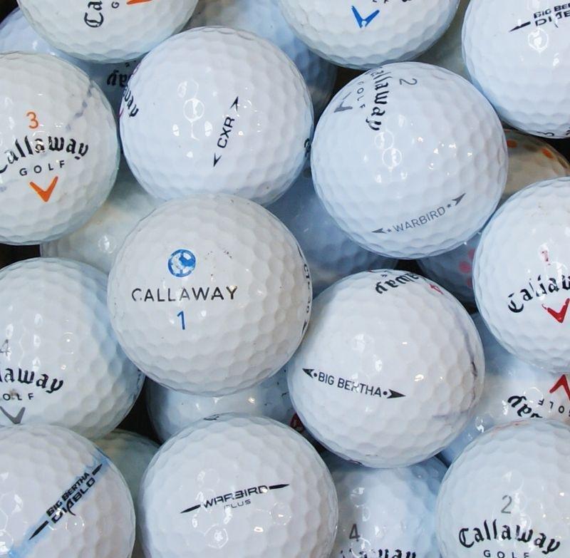 Callaway 100 Lake Balls in a Box.
