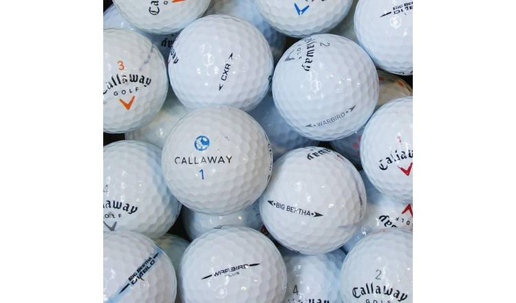 Callaway Lake Golf Balls in a Box - Pack of 100