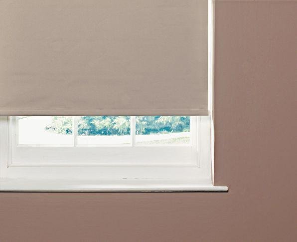 Image of ColourMatch Thermal Blackout Roller Blind - 4ft - Cafe Mocha