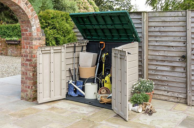 Garden storage, find the right storage option for all your garden needs.