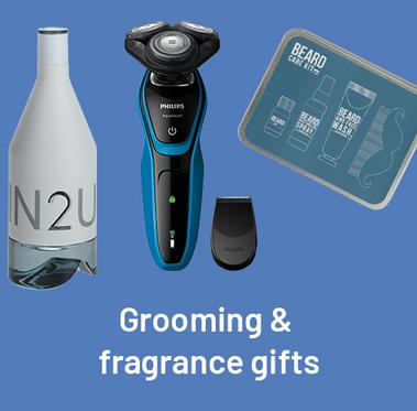 Grooming & fragrance gifts.