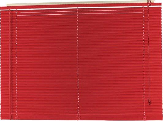 Argos Home PVC Venetian Blind - 4ft - Poppy Red