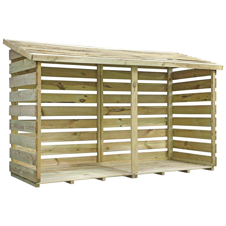 Mercia Garden Double Log Store