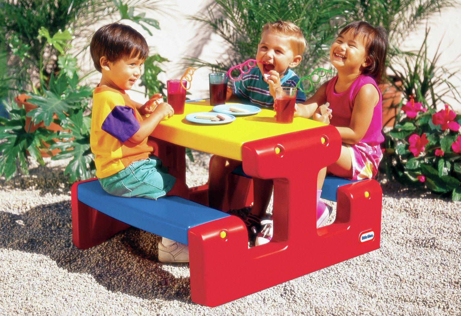 Little Tikes - Junior Picnic Table Primary
