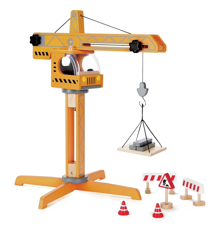 Hape Crane Lift Construction Toy