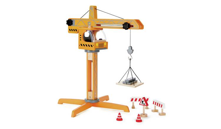 Hape Crane Lift Construction Toy