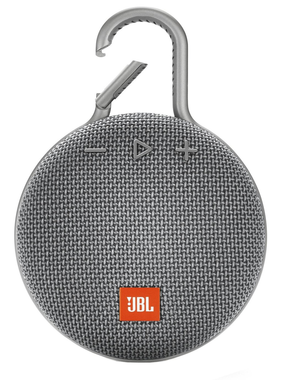 JBL Clip 3 Bluetooth Speaker - Grey
