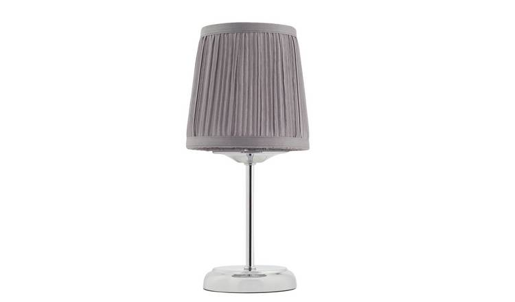 Argos Home Le Marais Pleated Bedside Lamp