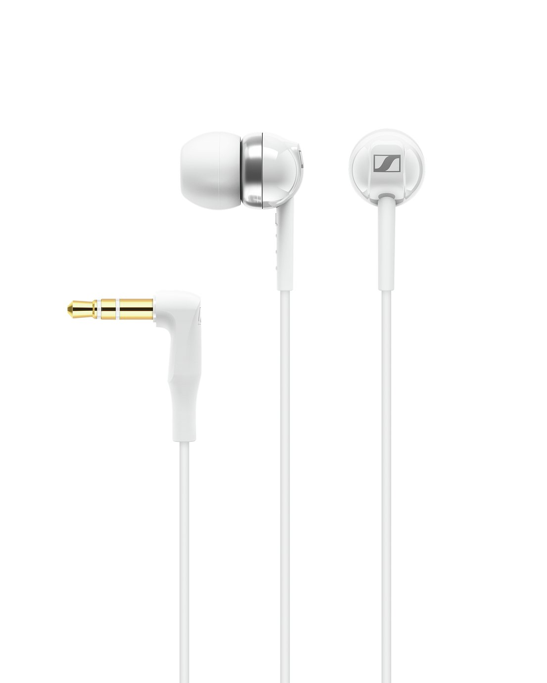 Sennheiser CX 100 In-Ear Wired Headphones - White