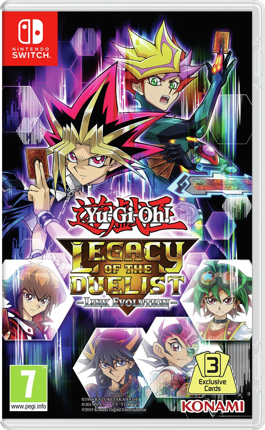 Yu-Gi-Oh Legacy of the Duellist: Link Evo. Switch Pre-Order