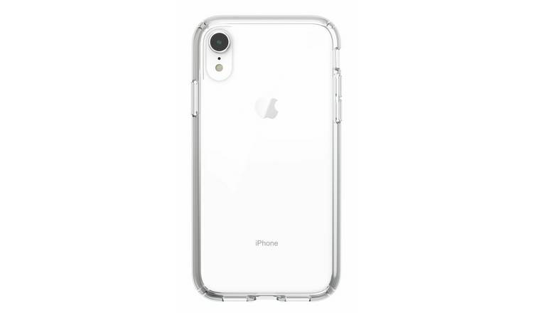 best authentic 3d892 01632 Buy Speck Presidio iPhone XR Mobile Phone Case - Clear | Mobile phone cases  | Argos