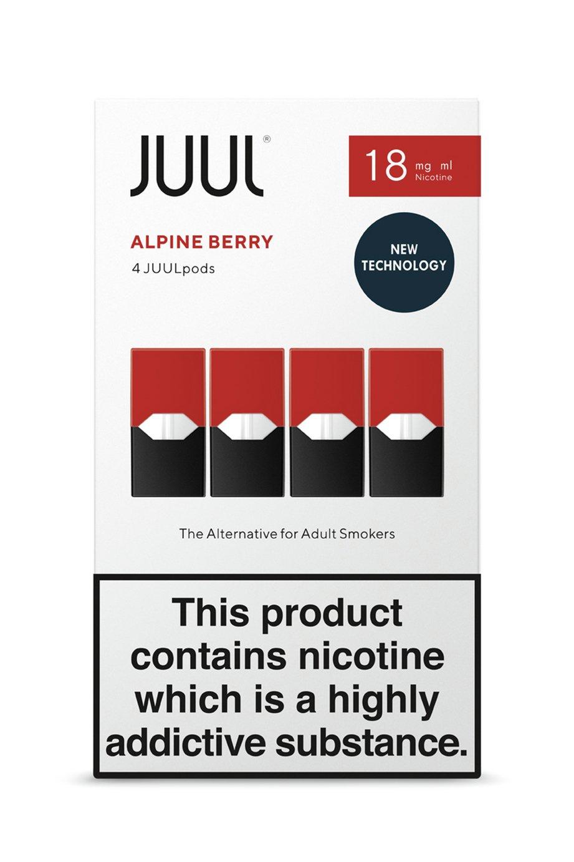 JUUL Alpine Berry PODS 18mg