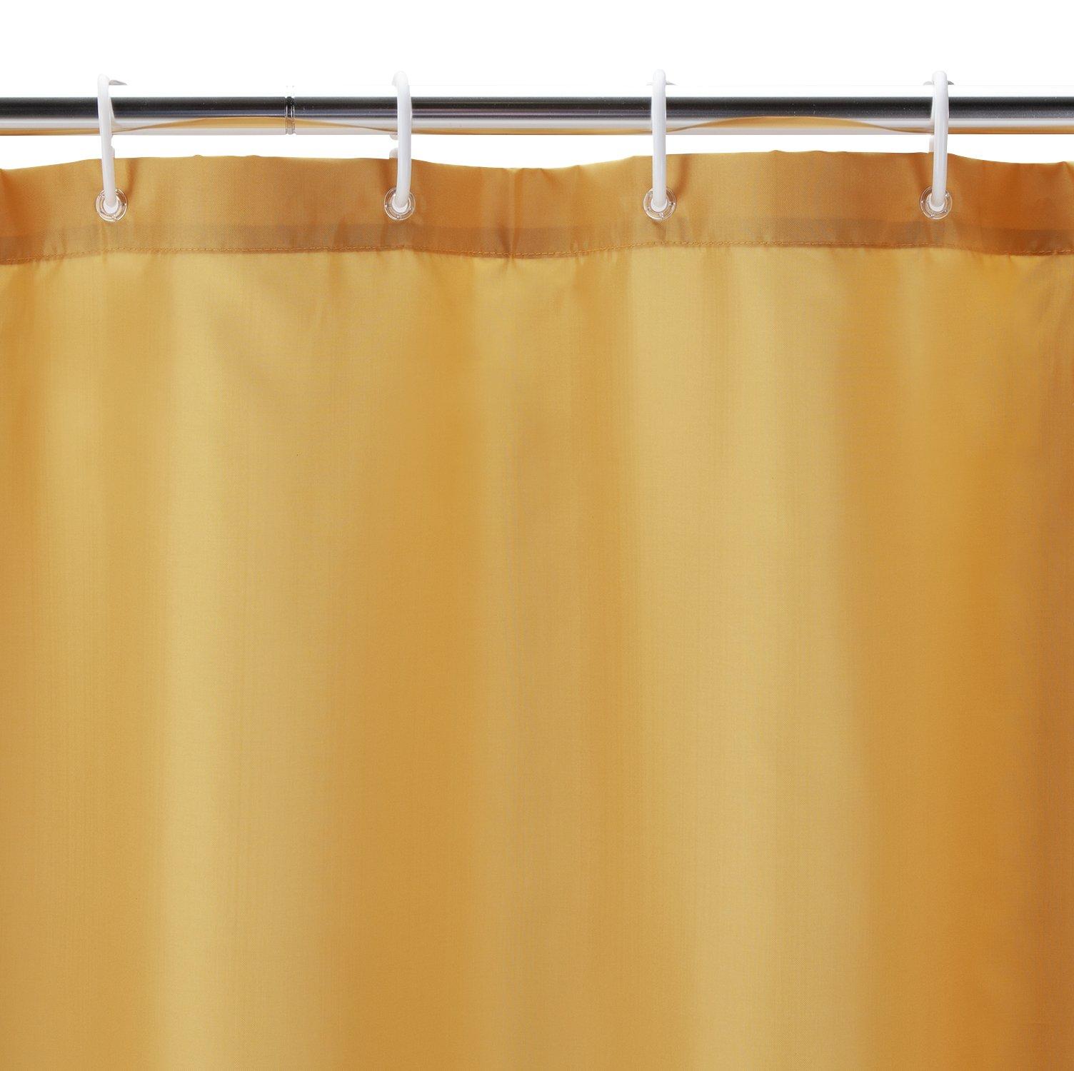 Argos Home Shower Curtain - Mustard