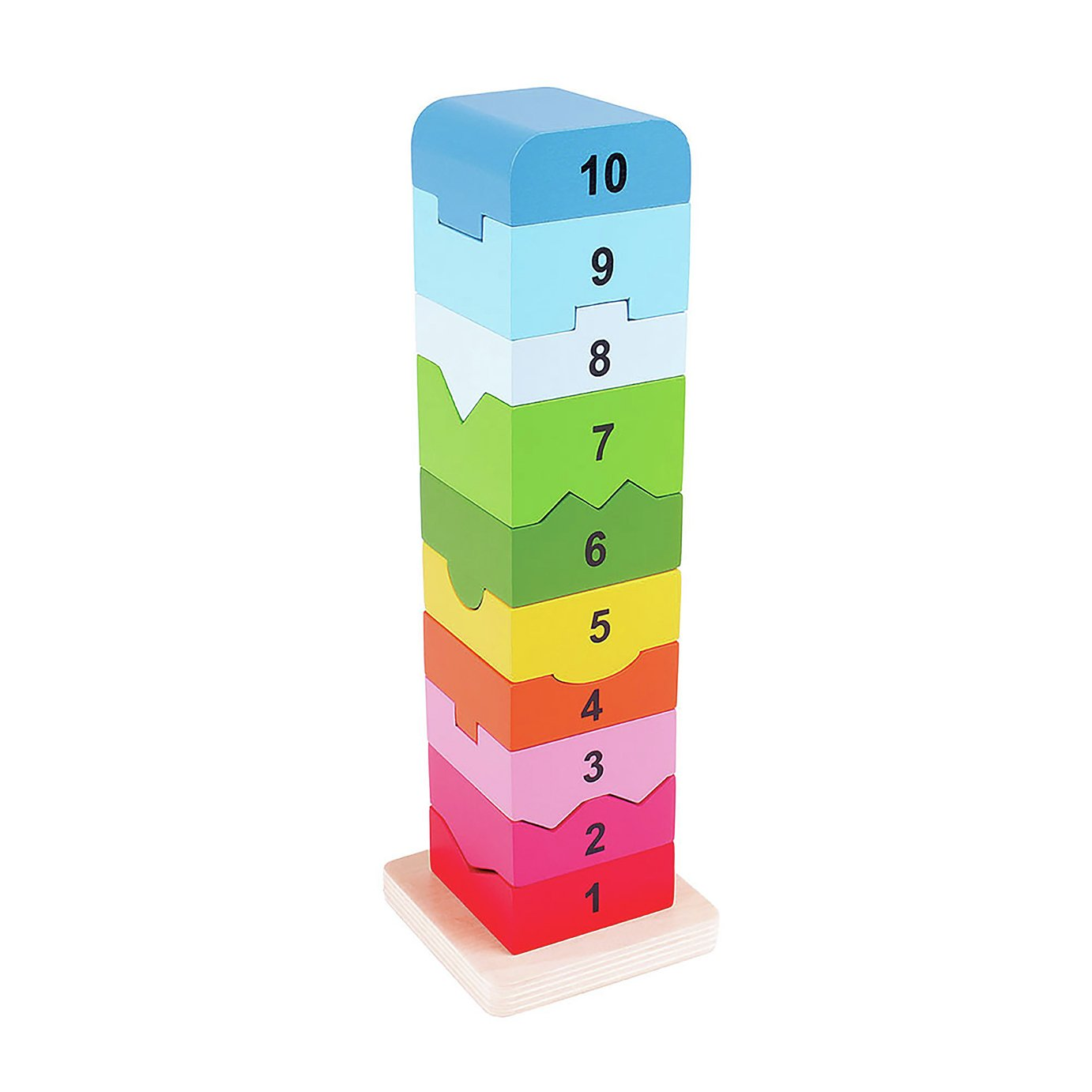 Baby Bigjigs Number Tower