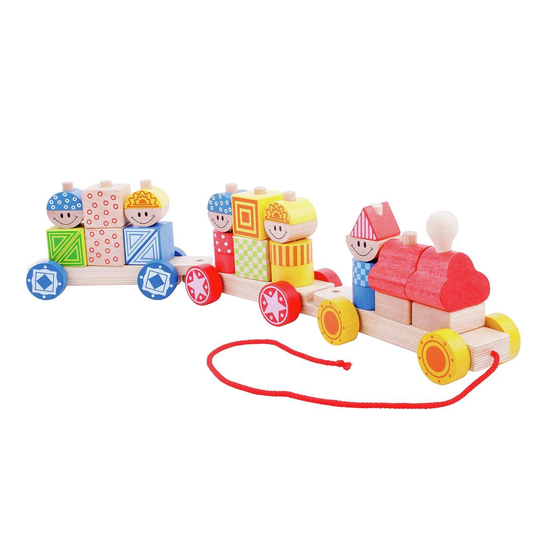 Baby Bigjigs Build Up Train
