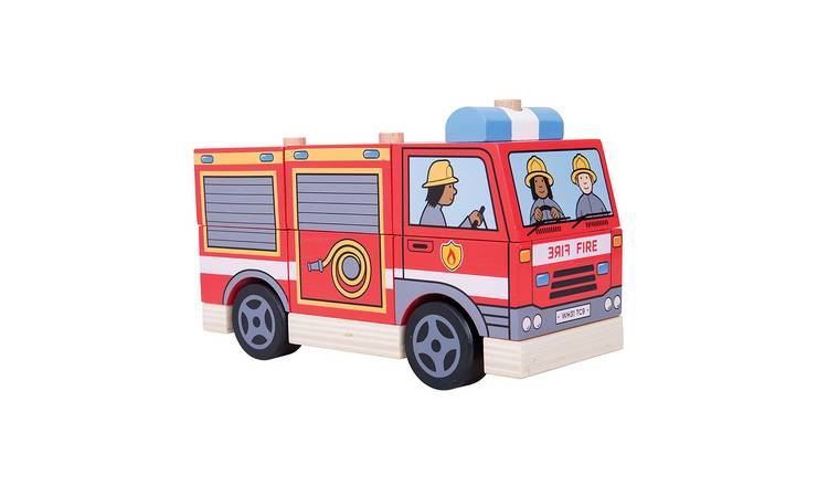 Baby Bigjigs Stacking Fire Engine