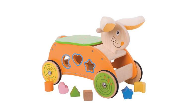 Baby Bigjigs Bunny Ride-on