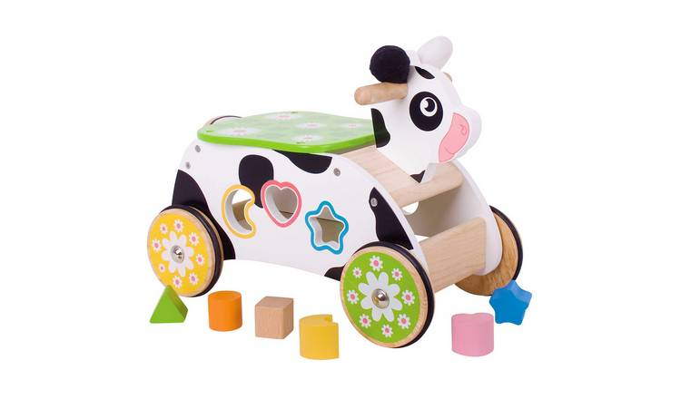 Baby Bigjigs Ride On Cow