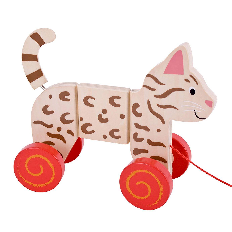 Baby Bigjigs Cat Pull-Along