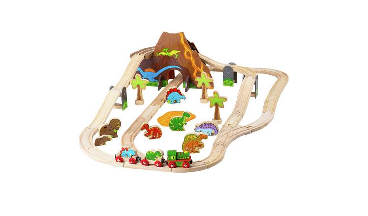 Bigjigs Rail Dinosaur Railway Set