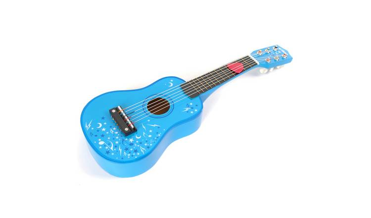 Tildo Wooden Guitar - Blue