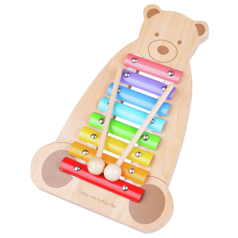 Tildo Musical Bear Soft Toy