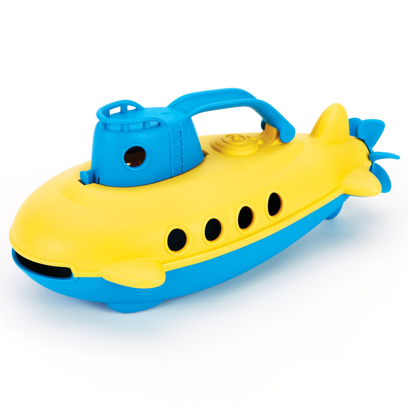 Green Toys Submarine Blue Handle Toy Boat