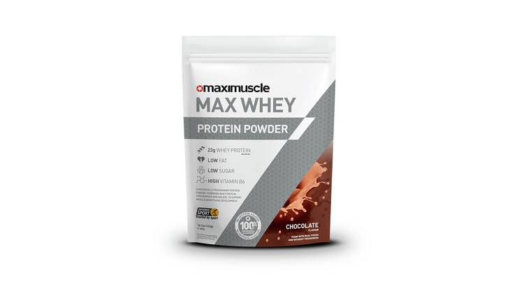 Maximuscle Chocolate Whey Protein Powder - 480g