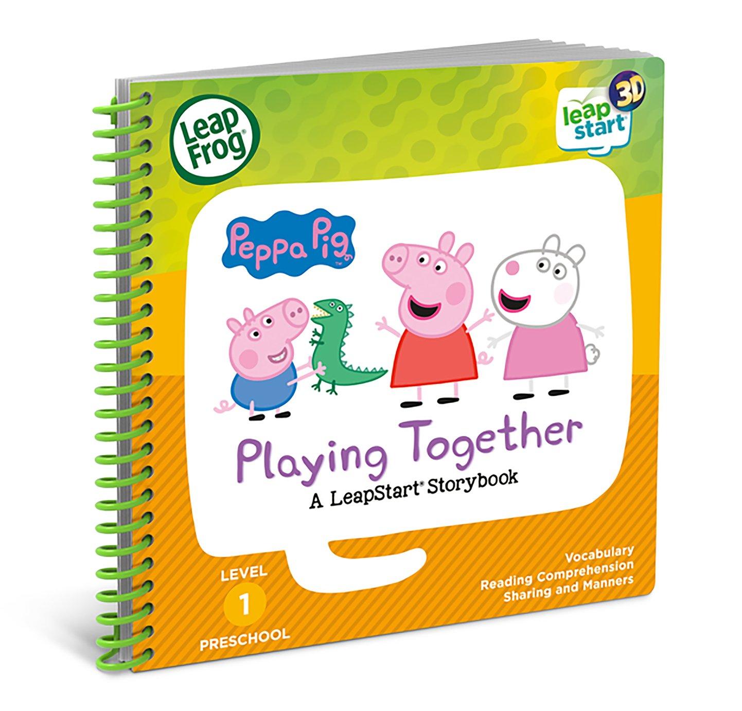 LeapStart Peppa Pig 3D Story Book