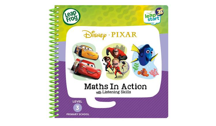LeapFrog LeapStart Pixar Pals Activity 3D Book