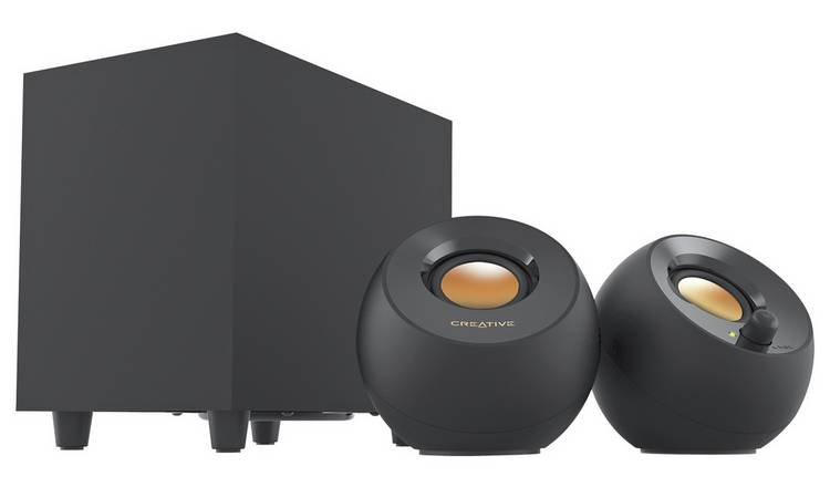 Creative MF0480 2.1 PC Speaker Set - Pebble Black