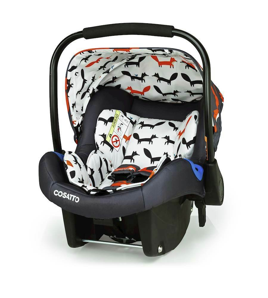 Cosatto Port Group 0+ Baby Car Seat - Charcoal Mister Fox
