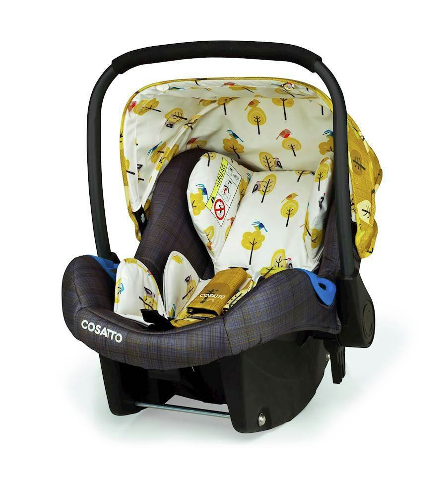 Cosatto Port Group 0+ Baby Car Seat - Spot the Birdie