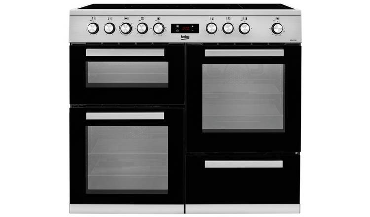 Beko KDVC100X 100cm Electric Range Cooker - Stainless Steel