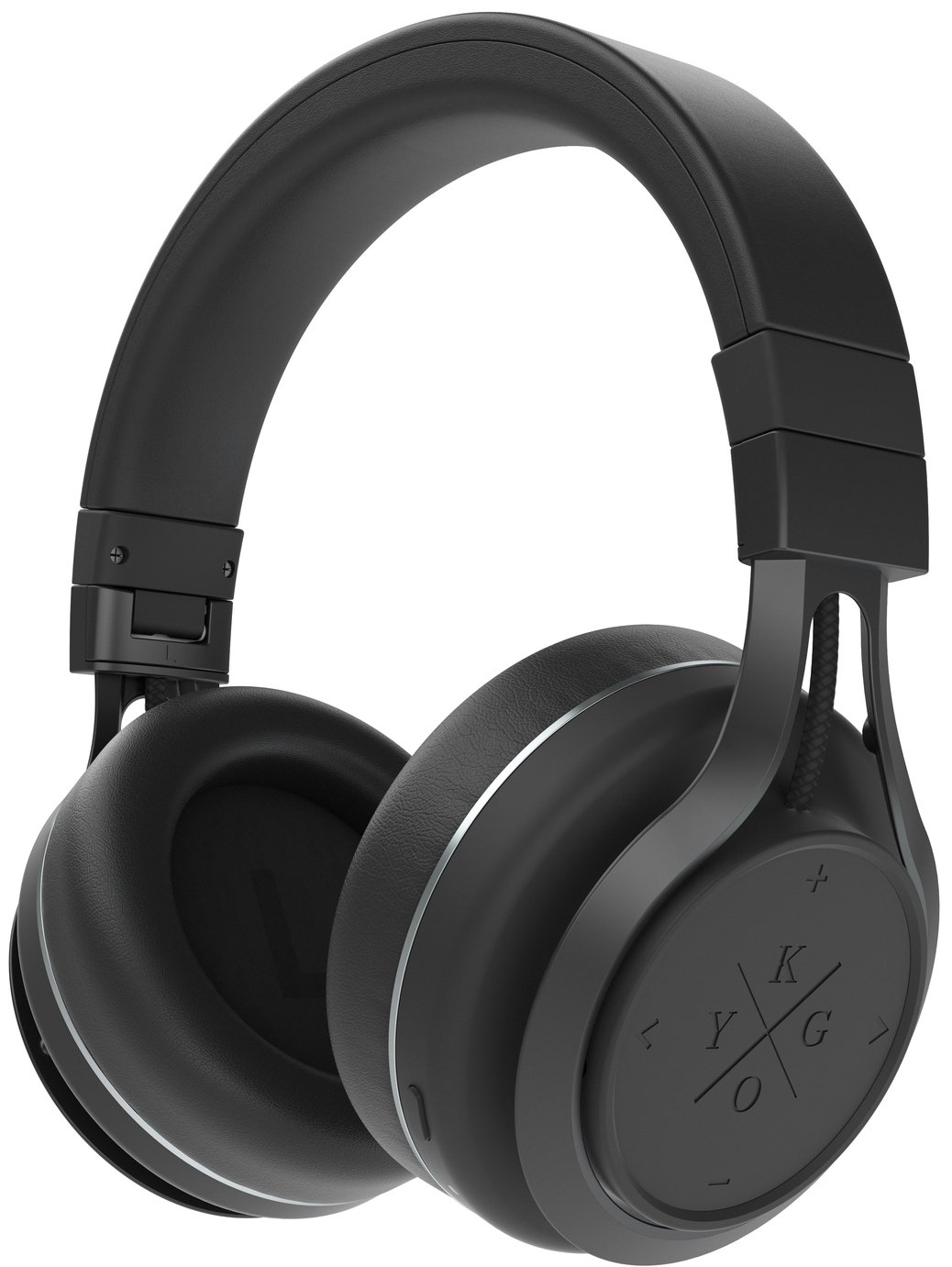 Kygo A9/600 Over-Ear Wireless Headphones - Black