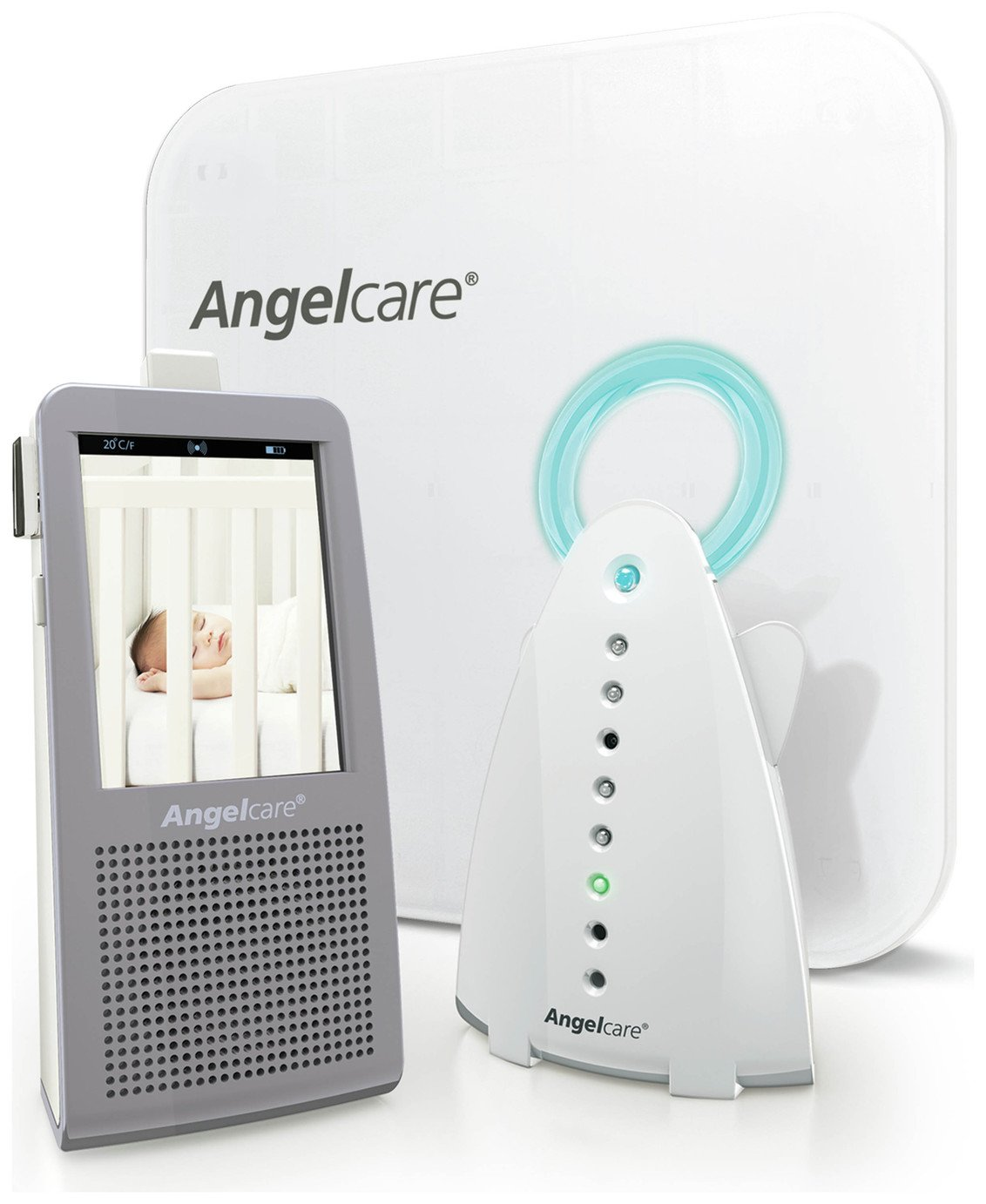 Image of Angelcare AC1100 Baby Movement Monitor with Video