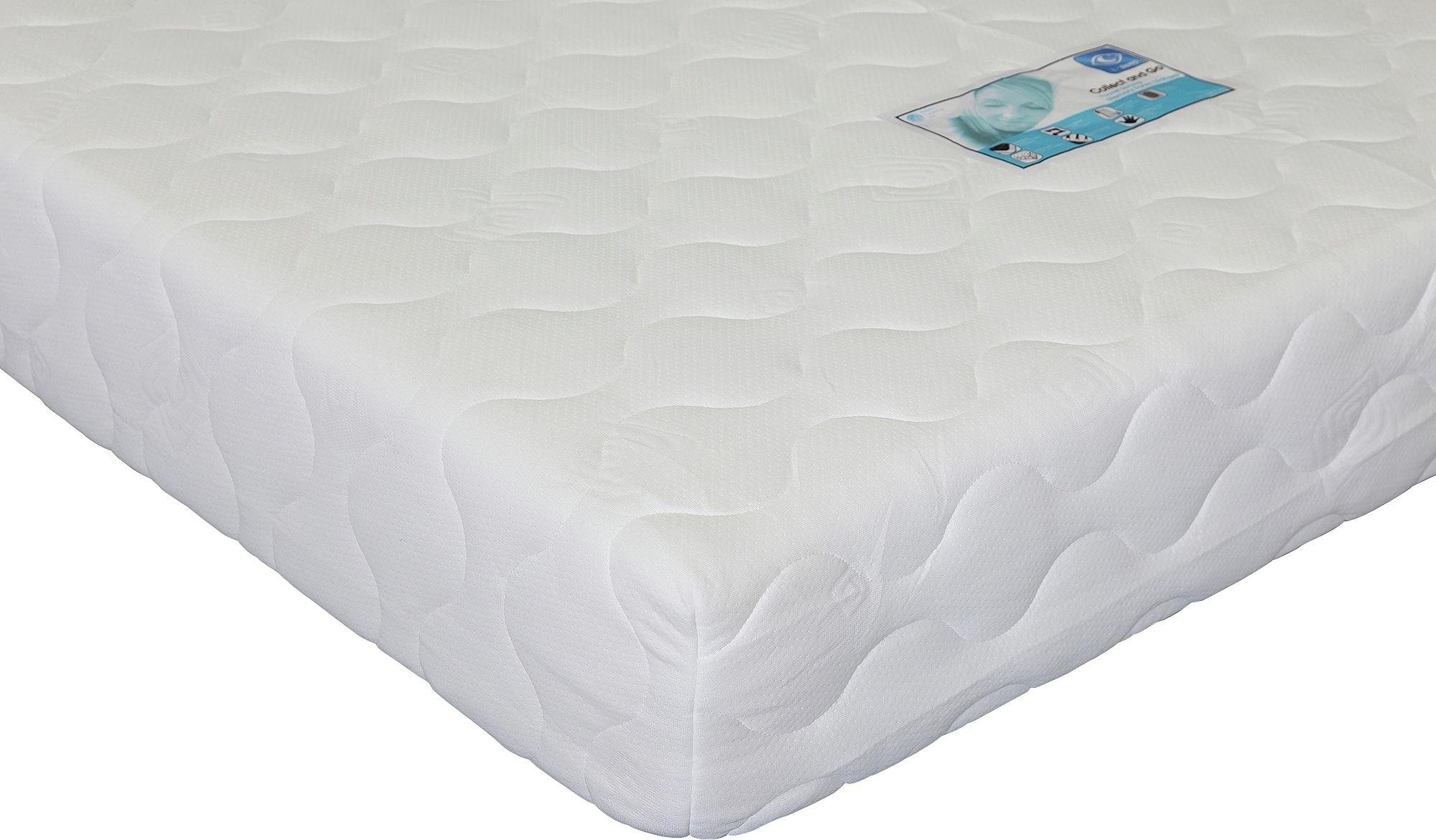 Argos Home Collect & Go Pocket Memory Foam Kingsize Mattress