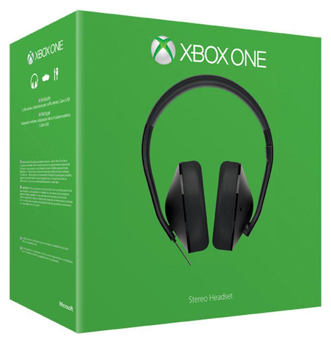 Xbox One Headset Over Ear Stereo