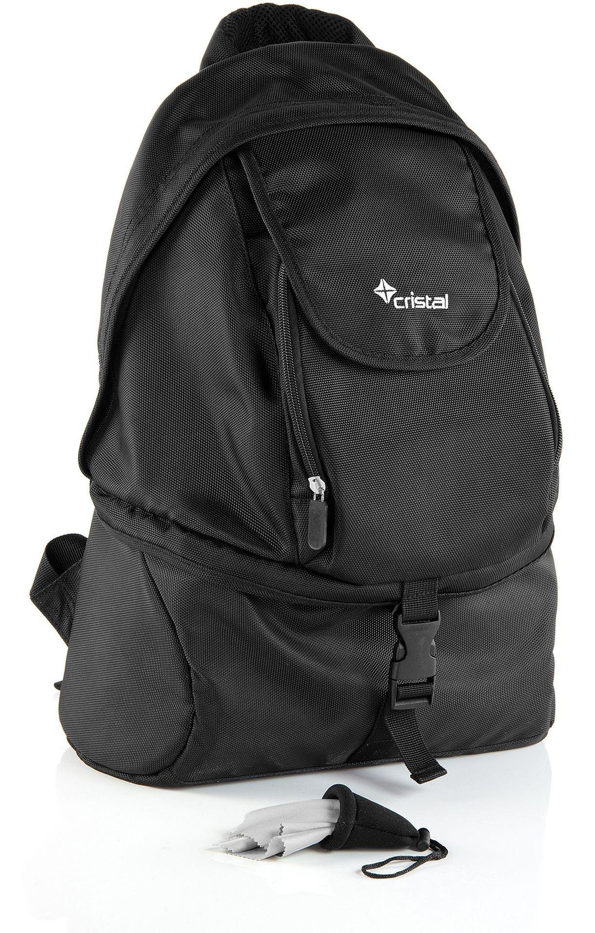 Cristal Cristal - DSLR - Camera Rucksack Bundle - Black