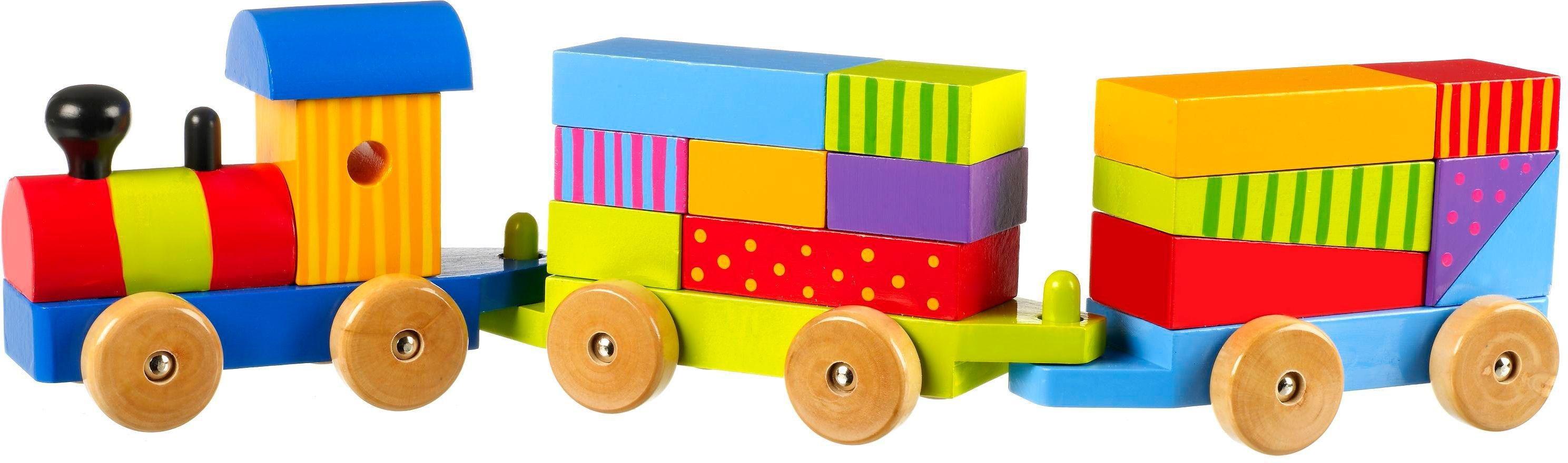 Orange Tree Puzzle Train