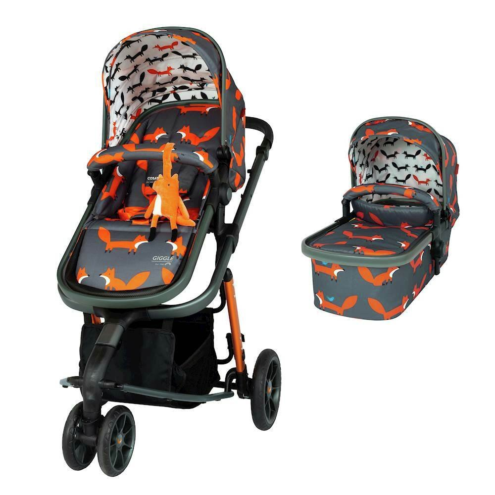 Cosatto Giggle 3 Pushchair - Mister Fox