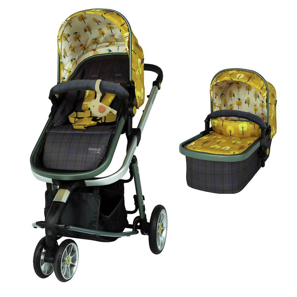 Cosatto Giggle 3 Group 0+ Baby Car Seat - Spot The Birdie