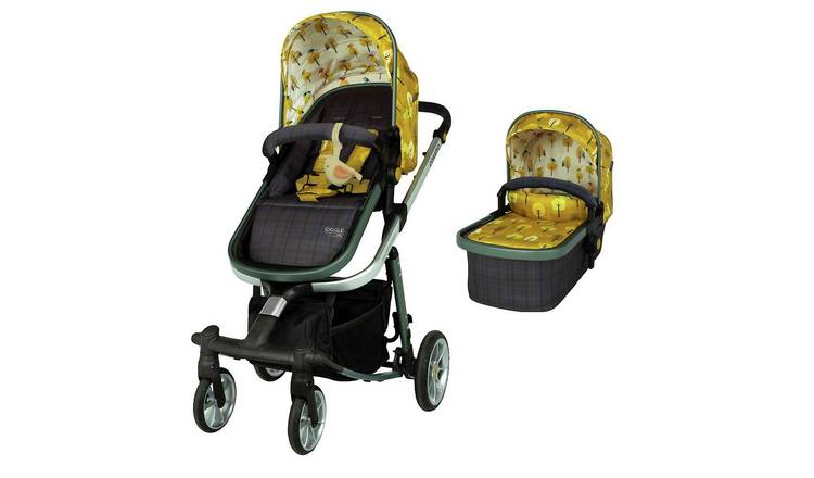 Cosatto Giggle Quad Pram & Pushchair - Spot the Birdie