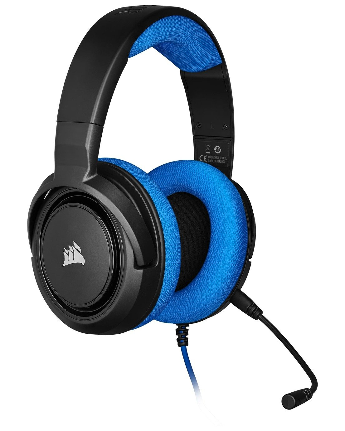 Corsair HS35 Xbox One, PS4, Switch, PC Headset - Blue
