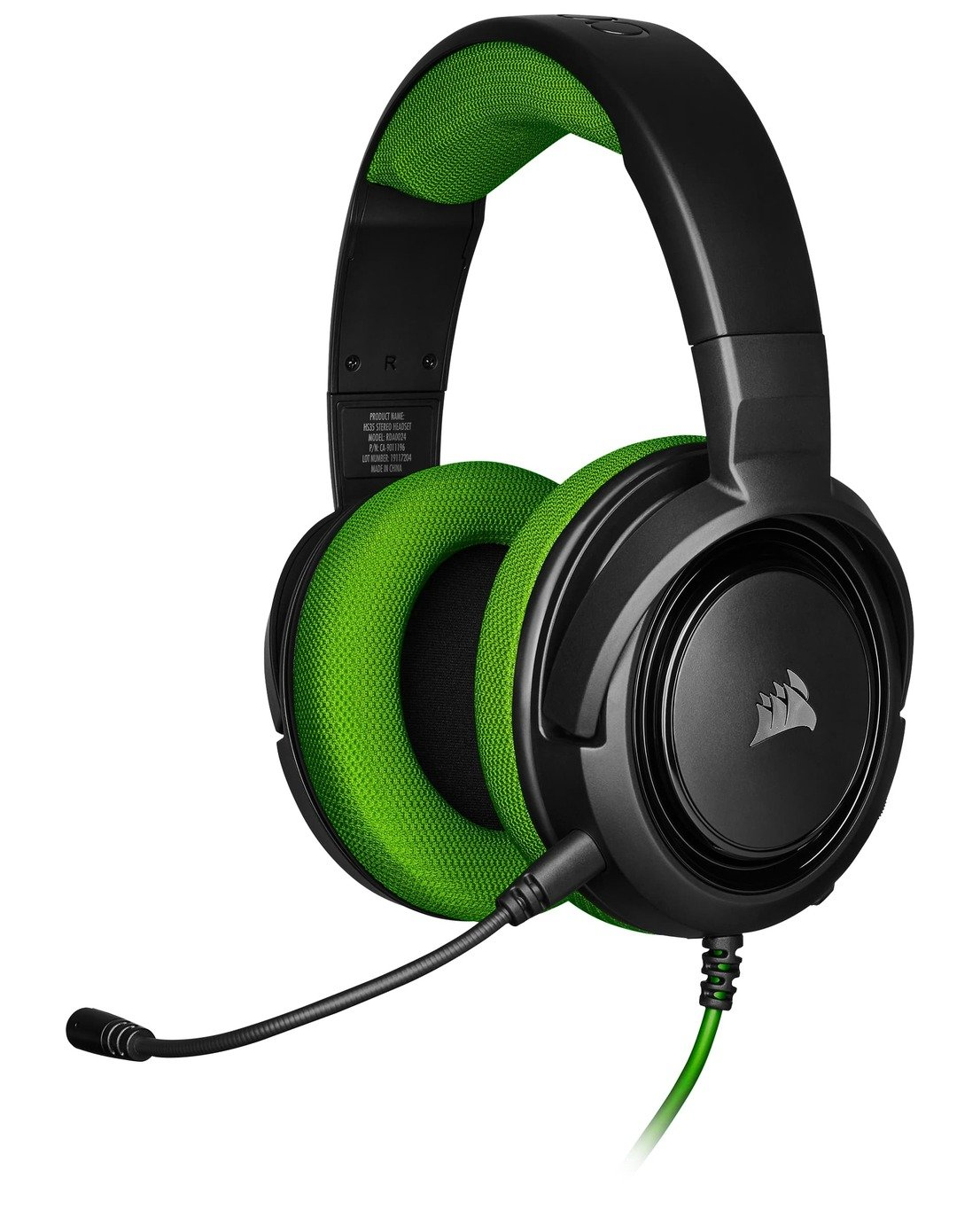 Corsair HS35 Xbox One, PS4, Switch, PC Headset - Green